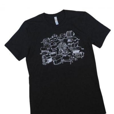 Black Vintage Roasters T-Shirt