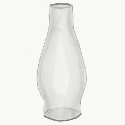 Glass Chimney for Air Popper Roasting