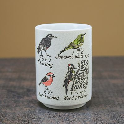 Birds of Japan Ceramic Cup