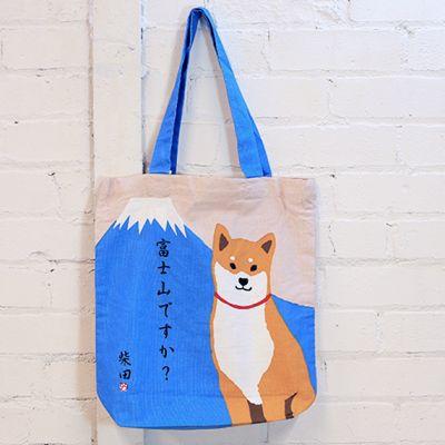 Shiba Mountain Tote Bag
