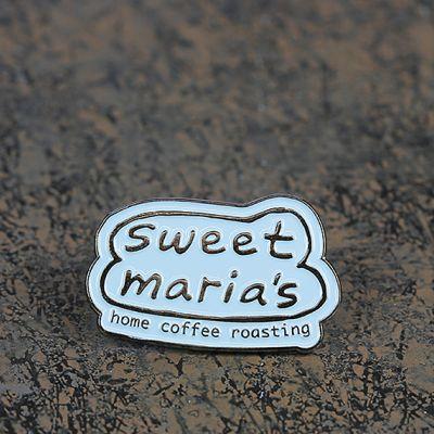 Sweet Maria's Bubble Logo Lapel Pin - Blue