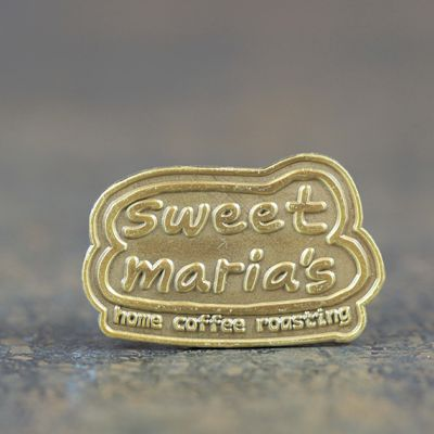 Sweet Maria's Bubble Logo Lapel Pin