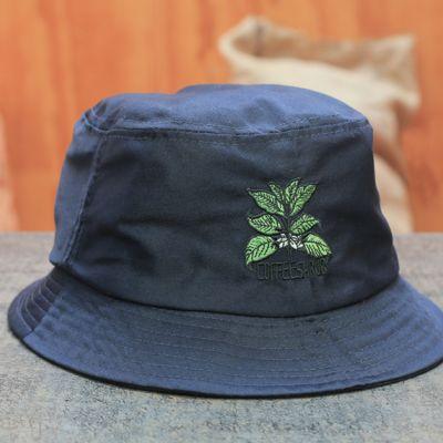 Coffee Shrub Bucket Hat - Blue