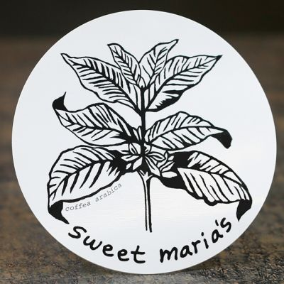 Sweet Maria's Coffee Leaves Sticker