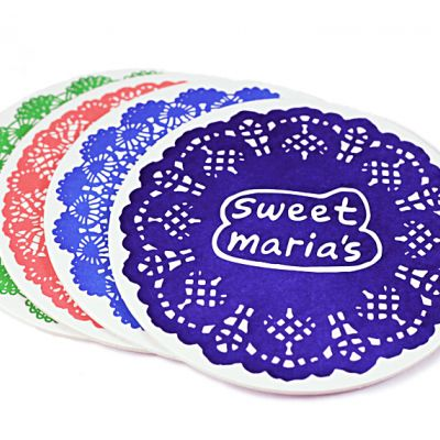 Sweet Maria's Drink Coasters - pack of 4
