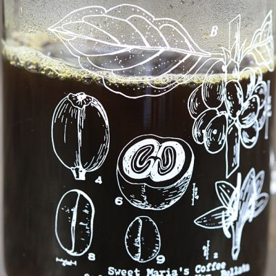 Sweet Maria's Glass Measuring Beaker