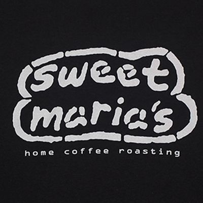 Sweet Maria's Logo T-Shirt - Black