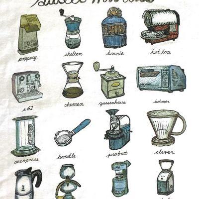 Sweet Maria's Coffee Icons T-Shirt