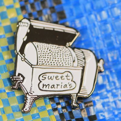 Vintage Roaster Enamel Lapel Pin